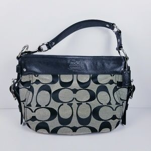 Coach Zoe signature hobo bag